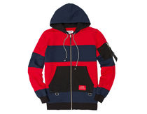 REASON Maidstone Stripes Hoodie zip S~XL Fedex対応