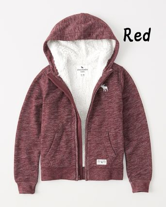 Abercrombie & Fitch トップス 【Abercrombie Kids】sherpa-lined icon hoodie もこもこ☆Boys(2)