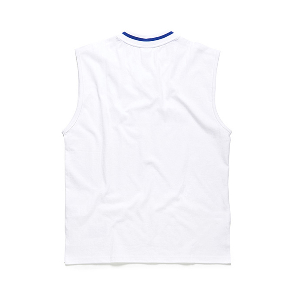 [Born Champs] 韓国人気! BORN CHAMPS VNECK SLEEVLESS WHITE