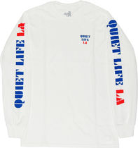 THE QUIET LIFE(クワイエットライフ) Tシャツ・カットソー THE QUIET LIFE ZONE ロングスリーブ Tシャツ -ホワイト