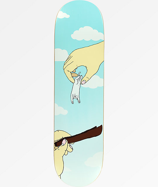 RIPNDIP リップンディップ Rolled Up Nermal Skateboard Deck