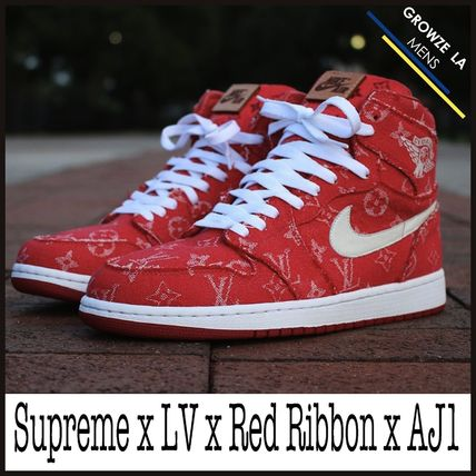 ★【NIKE】Red Ribbon Recon x Supreme x LV x Air Jordan 1