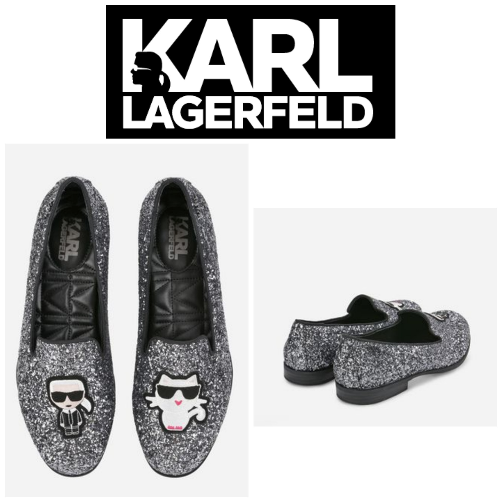【KARL LAGERFELD】☆セレブ愛用☆SALOTTO IKONIC LOAFER