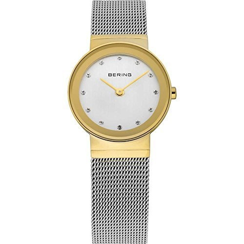 腕時計 Bering Time 10126-001 Ladies Silver Mesh Watch【並行