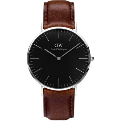 DANIEL WELLINGTON CLASSIC BLACK BRISTOL 40mm時計 DW00100131