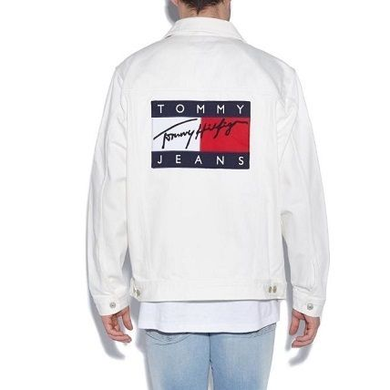 Tommy Jeans  90Sデニムジャケットホワイト
