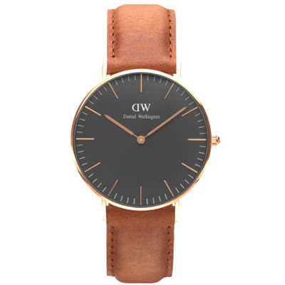 DANIEL WELLINGTON CLASSIC BLACK DURHAM 36mm時計 DW00100138