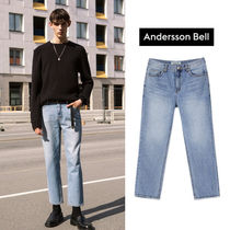 ANDERSSON BELL正規品★全2色★LEICESTER クロップジーパン