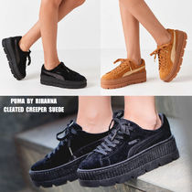 PUMA×FENTY BY RIHANNA CLEATED CREEPER SUEDE★コラボ★厚底