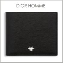 17-18AW★DIOR HOMME ビー シグニチャー 二つ折り 財布