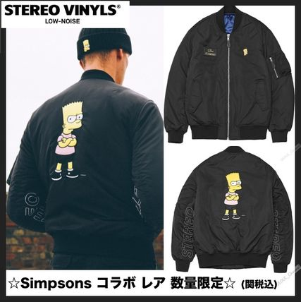 ★Stero Vinyls Collection [AW16 Simpsons] MA-1 ジャケット★