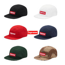 Supreme Wash Chino Twill Camp Cap 17AW シュプリーム Box Logo