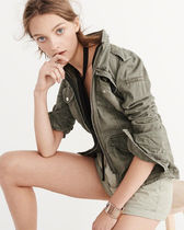 MELINA TWILL SHIRT JACKET