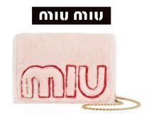 ★関税負担★MIU MIU★SHEARLING SHOULDER BAG