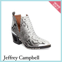 【Jeffrey Campbell】新作☆ スネーク柄 アンクル ブーツ★