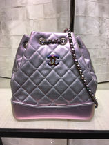 ★2017CHANEL ACT.2 続々入荷★Gabrielle Back Pack in purple