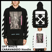 【Off-White】DIAG CARAVAGGIO HOODIE OMBB003S17192090
