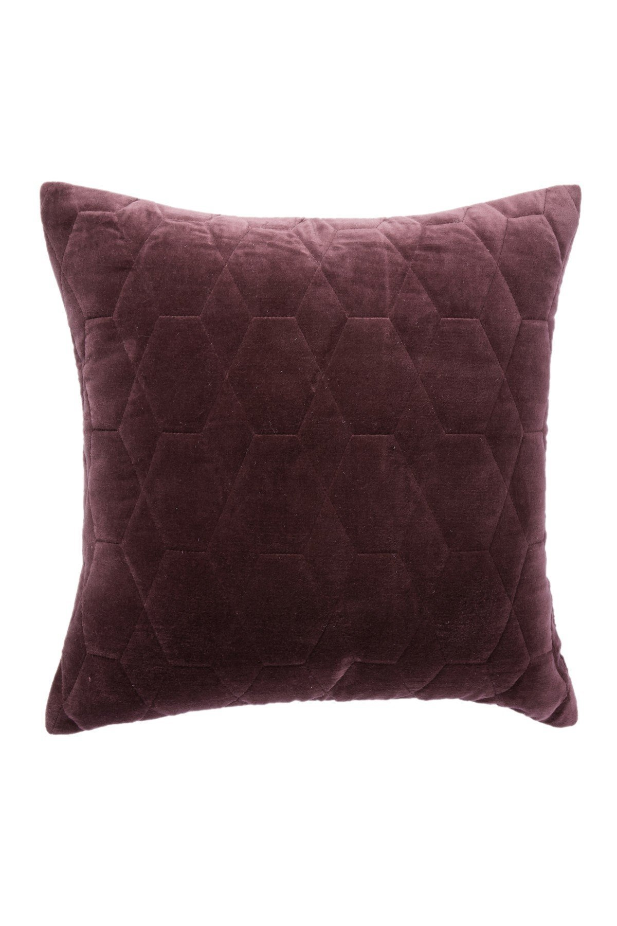 home/インテリア Quilted Velvet Throw Pil【関送込】アクセント