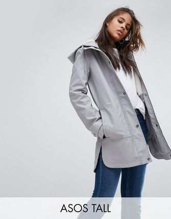 ★ASOS Collection★送料込み Tall Premium Raincoat wit コート