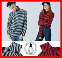 CLIF WEAR(クリフウェア) Tシャツ・カットソー 韓国の人気【NotNNot】TURTLE NECK STRIPE TEE  SHINee着用 2色