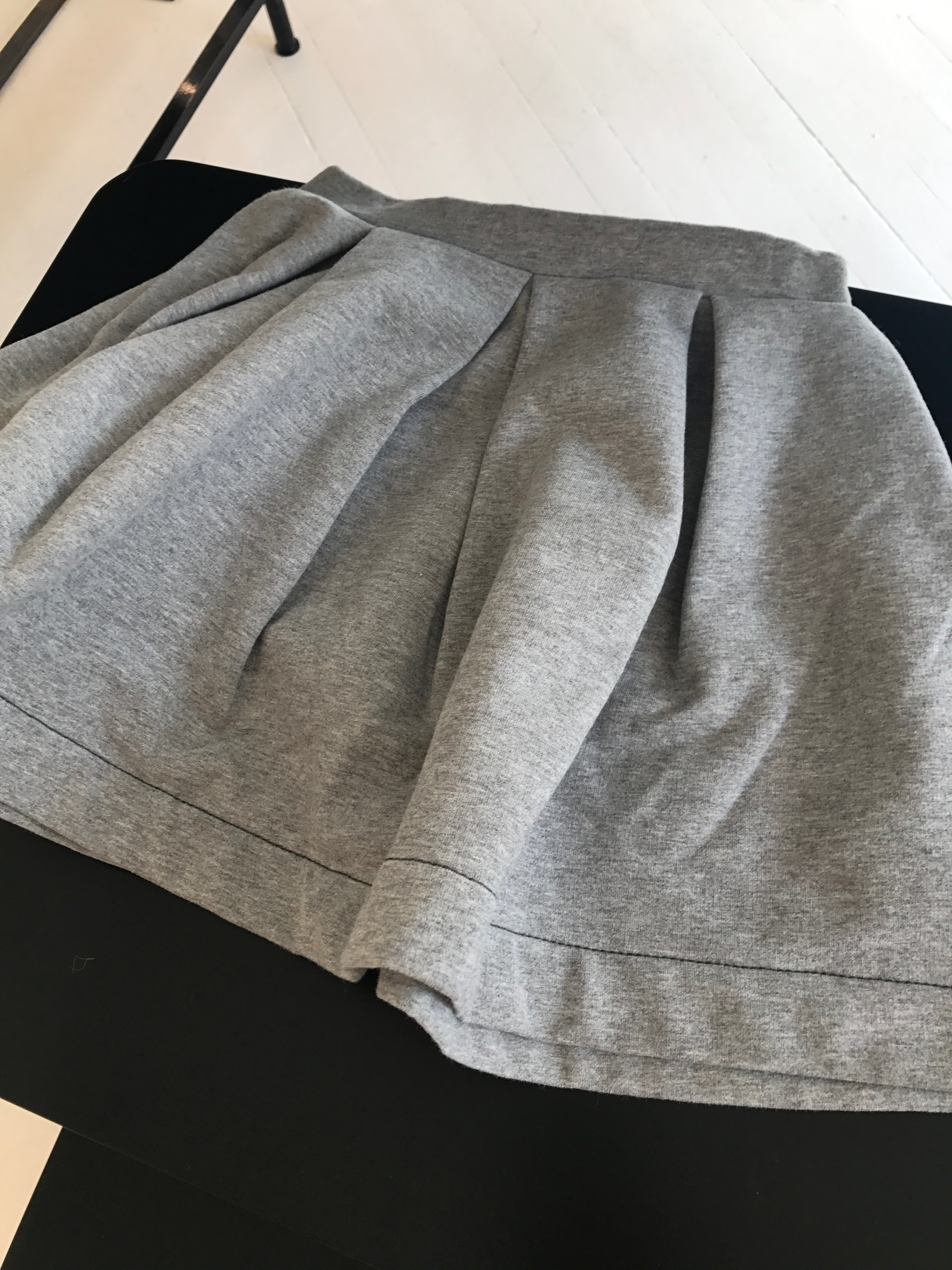 17AW【BONTON】Sweat Skirt  4A