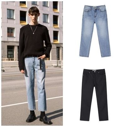 ANDERSSON BELL デニム・ジーパン 日本未入荷ANDERSSON BELLのLEICESTER CROP JEANS 全2色