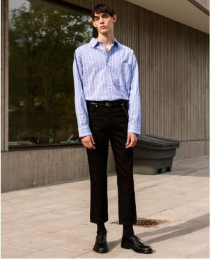 ANDERSSON BELL デニム・ジーパン 日本未入荷ANDERSSON BELLのLEICESTER CROP JEANS 全2色(13)