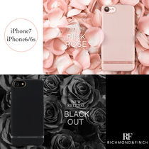 【日本総代理店】iPhone7/6/6s RICHMOND&FINCH♡PINK BLACK