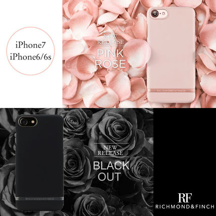【日本総代理店】iPhone7/6/6s RICHMOND&FINCH〓PINK BLACK