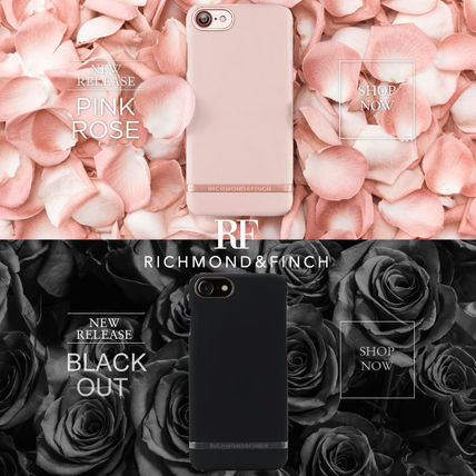 【日本総代理店】iPhone7PLUS〓RICHMOND&FINCH PINK BLACK