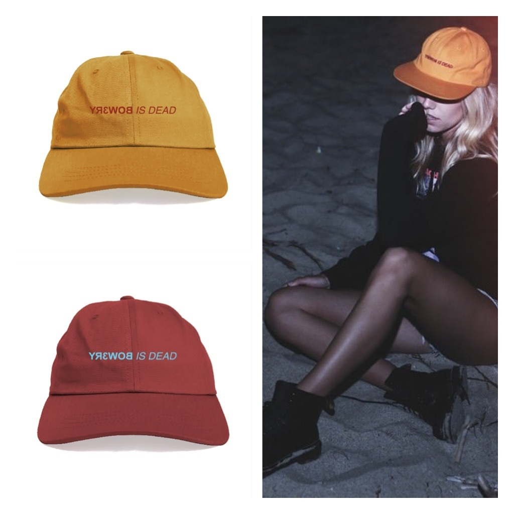 18AW「SURF IS DEAD」SID x Bow3ry - Asleep in the Coffin Hat