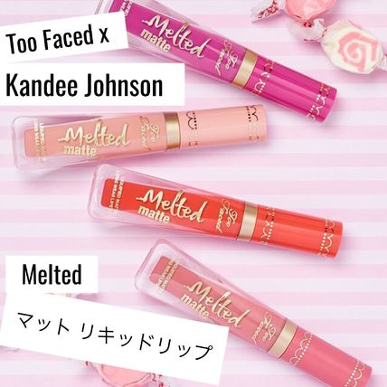 Too Faced リップグロス・口紅 限定☆Too Faced x Kandee Johnson☆リキッドリップスティック