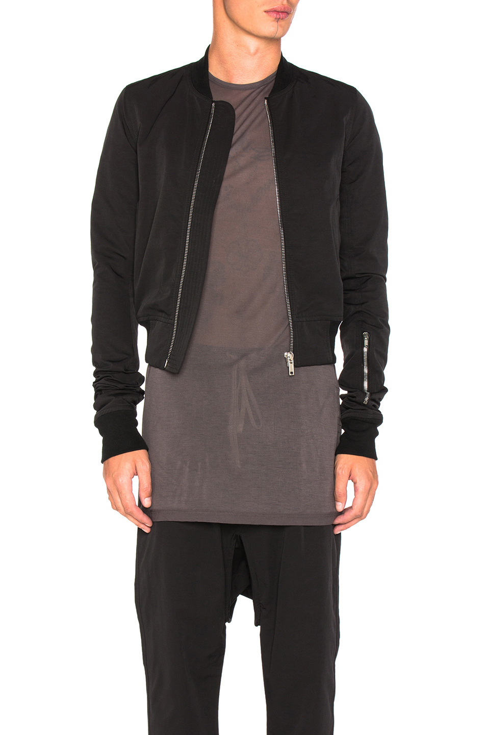 ★【DRKSHDW by Rick Owens】安心追跡 Glitter Flight Bomber