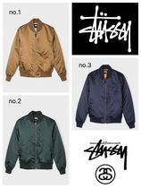 【送料無料】EMORY SATIN BOMBER JACKET