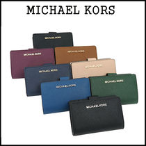 【即発3-5日着】Michael Kors★BIFOLD ZIP WALLET★二つ折り