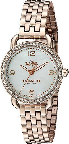 コーチ COACH Women's Delancey - 14502697 Silver Watch 並行輸