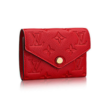 competitive price 8ca2b f41de 国内 Louis Vuitton ポルトフォイユ・ヴィクトリーヌ 財布 赤