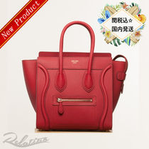 17AW★関税込【CELINE】マイクロ ラゲージ バッグ/Red