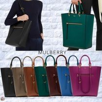 Mulberry☆Maple レザー トート バッグ 2way 7カラー
