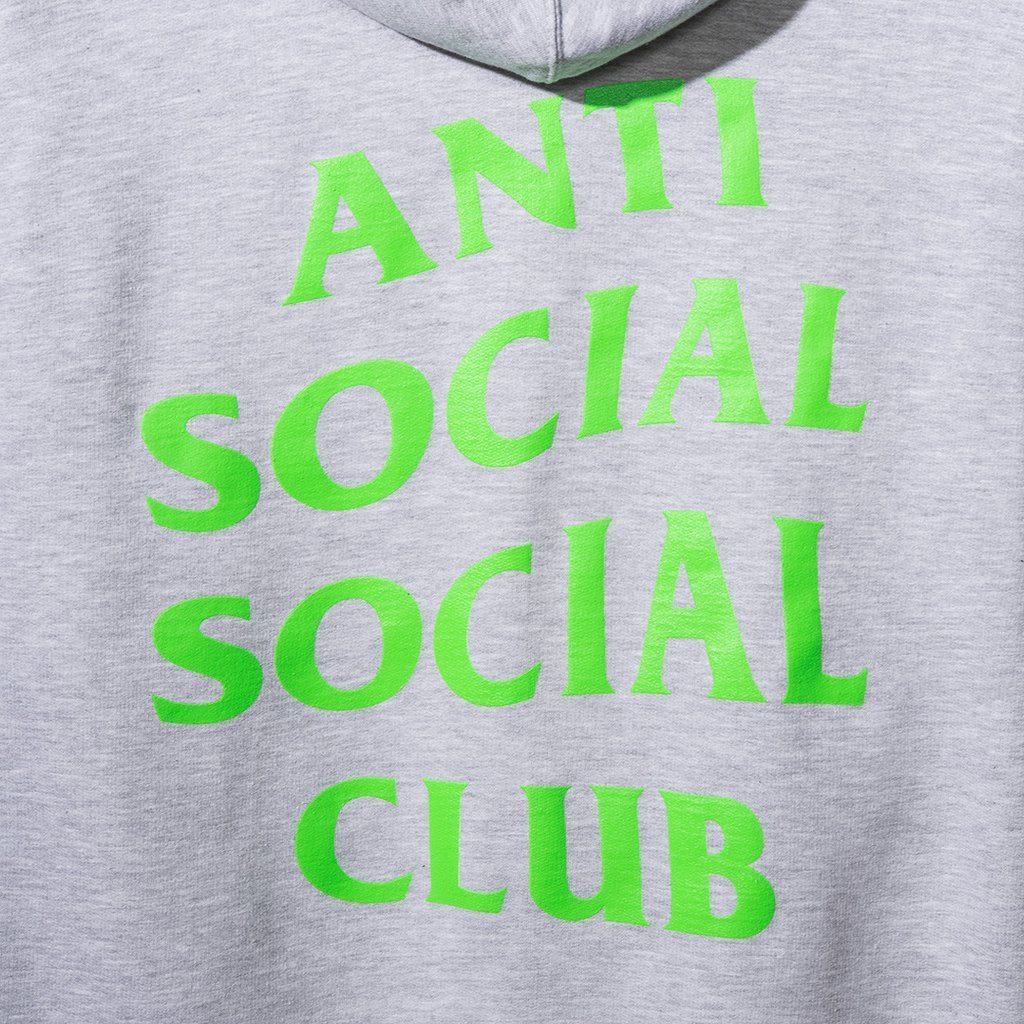 【国内即発】大人気 Anti Social Social Club ZIP UP パーカー