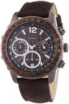 腕時計 ゲス Guess W0017L4 Ladies LADY B Chronograph Brown Wa