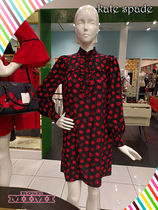 ポピーシャツドレスKate spade OOH LA LA MINI POPPY SHIRTDRESS