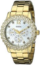 腕時計 ゲス Guess Women's U0335L2 Gold Stainless-Steel Quart