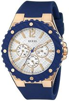腕時計 ゲス GUESS Women's U0452L3 Blue and Rose Gold-Tone Sp