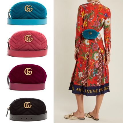 best loved c3b3c 104ec ☆GUCCI☆関税込♪NEW♪GG Marmont キルト ウエストバッグ
