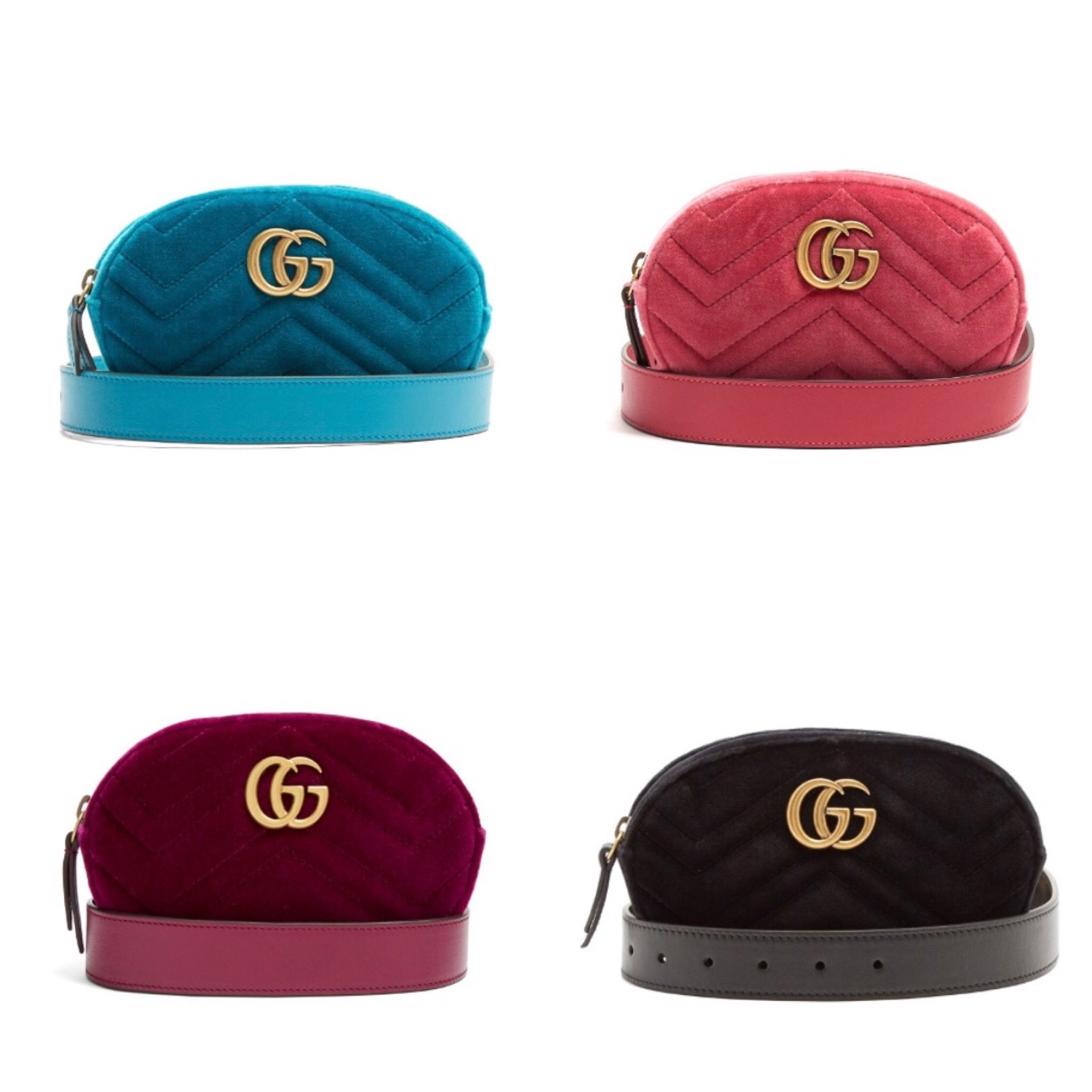 ☆GUCCI☆関税込♪NEW♪GG Marmont キルト ウエストバッグ