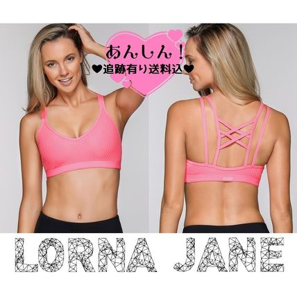 Lorna Jane フィットネストップス ★追跡有【Lorna Jane】Attitude Sports Bra★