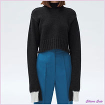 【17aw NEW】CELINE_women/MOCK NECK CROPPED SWEATER/セーター