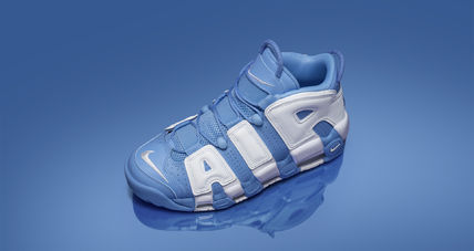 "Nike スニーカー 送料込!Nike Air More Uptempo ""University Blue"" モアテン(2)"