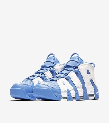 "Nike スニーカー 送料込!Nike Air More Uptempo ""University Blue"" モアテン(3)"